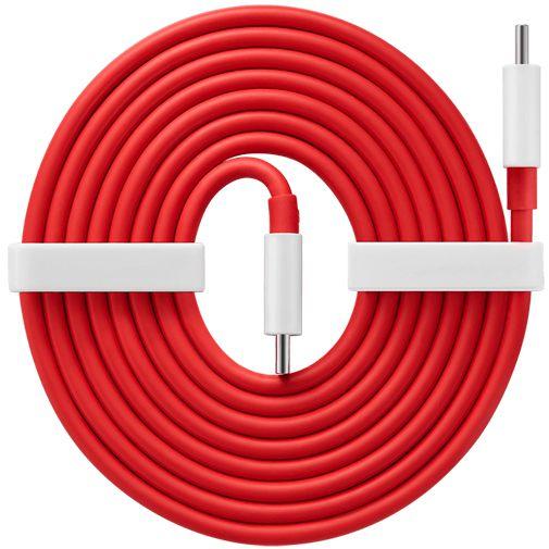 Productafbeelding van de OnePlus Warp Charge USB-C - USB-C Kabel 1,5 Meter Rood
