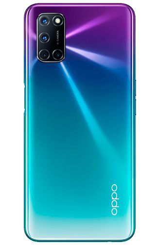 Product image of the Oppo A72 Purple