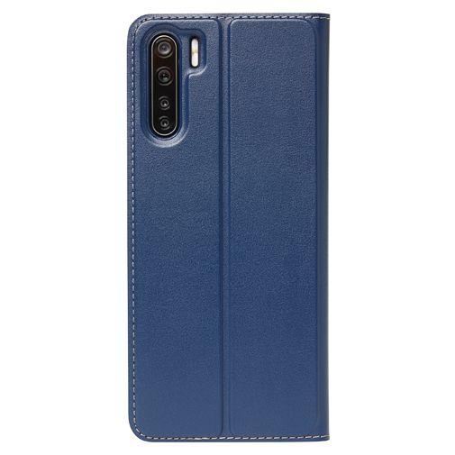 Productafbeelding van de Oppo PU-leer Book Case Blauw Oppo A52/A72