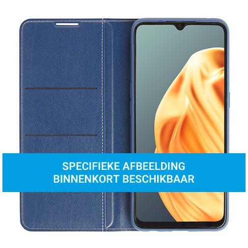 Productafbeelding van de Oppo PU-leer Book Case Blauw Oppo Find X2 Pro