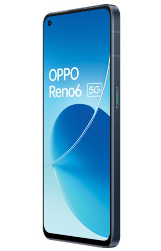 Product image of the Oppo Reno6 5G Black