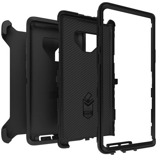 Productafbeelding van de Otterbox Defender Case Black Samsung Galaxy Note 9