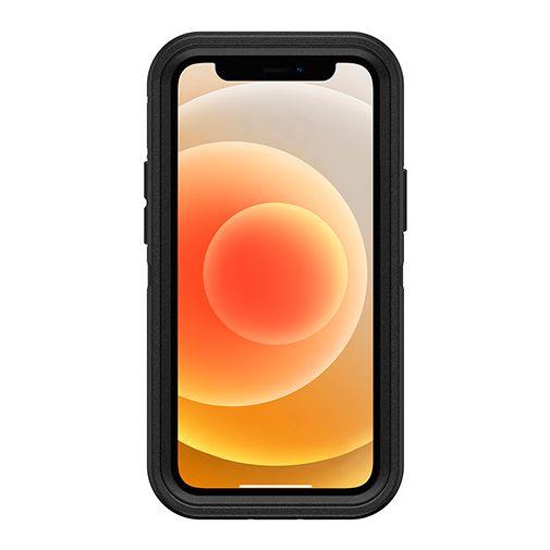 Productafbeelding van de Otterbox Defender Kunststof Back Cover Zwart Apple iPhone 12 Mini