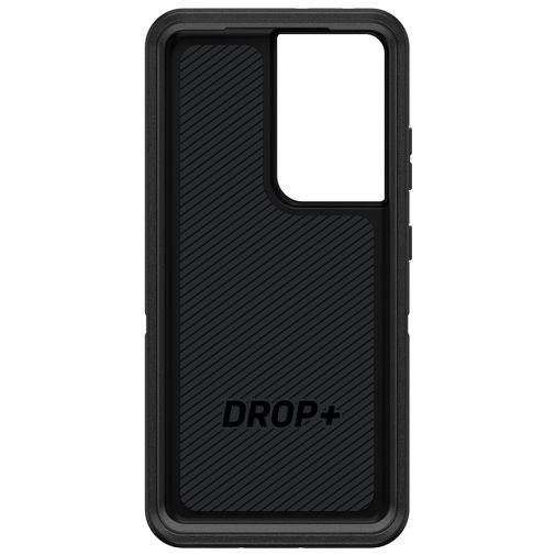 Productafbeelding van de Otterbox Defender Kunststof Back Cover Zwart Samsung Galaxy S21 Ultra 5G