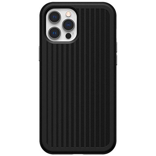 Productafbeelding van de Otterbox Easy Grip Kunststof Back Cover Zwart Apple iPhone 12 Pro Max