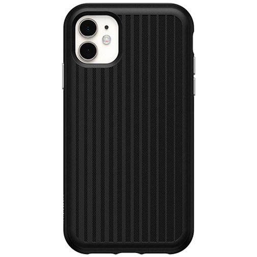 Productafbeelding van de Otterbox Easy Grip Kunststof Back Cover Zwart Apple iPhone XR/11