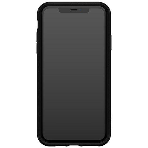 Productafbeelding van de Otterbox Easy Grip Kunststof Back Cover Zwart Apple iPhone XS Max/11 Pro Max