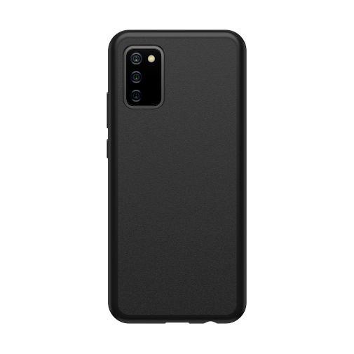 Productafbeelding van de OtterBox React Kunststof Back Cover Zwart Samsung Galaxy A02s