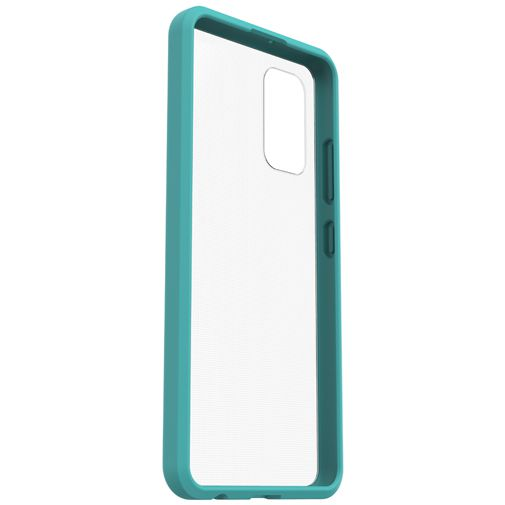 Productafbeelding van de OtterBox React PC Back Cover Transparant Blauw Samsung Galaxy A32 5G