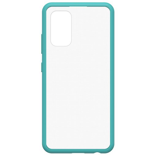 Productafbeelding van de OtterBox React PC Back Cover Transparant Blauw Samsung Galaxy A32