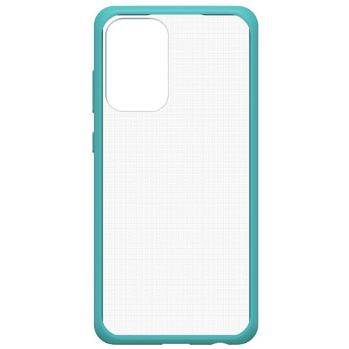 Productafbeelding van de OtterBox React PC Back Cover Transparant Blauw Samsung Galaxy A72