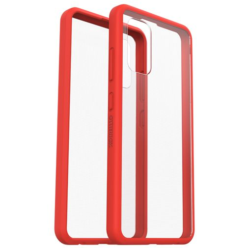 Productafbeelding van de OtterBox React PC Back Cover Transparant Rood Samsung Galaxy A32 5G