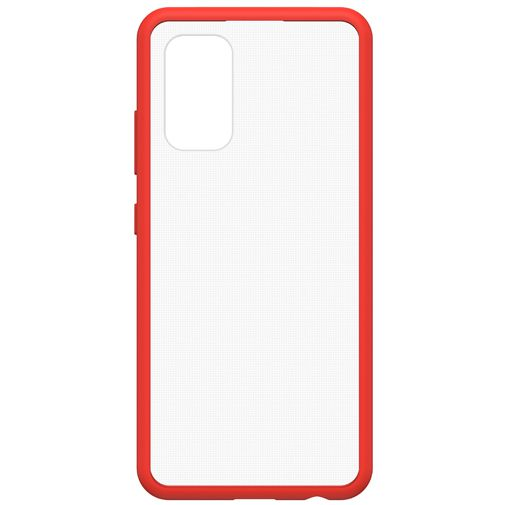 Productafbeelding van de OtterBox React PC Back Cover Transparant Rood Samsung Galaxy A32