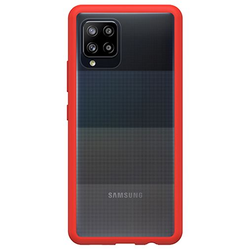 Productafbeelding van de OtterBox React PC Back Cover Transparant Rood Samsung Galaxy A42 5G