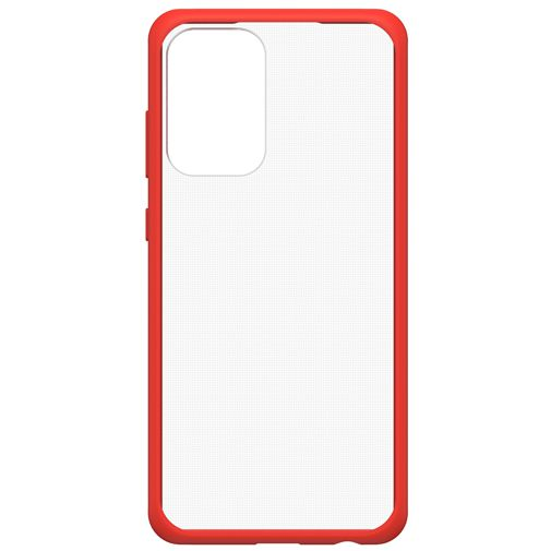 Productafbeelding van de OtterBox React PC Back Cover Transparant Rood Samsung Galaxy A72