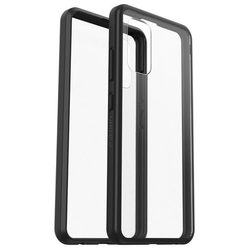 Productafbeelding van de OtterBox React PC Back Cover Transparant Zwart Samsung Galaxy A32