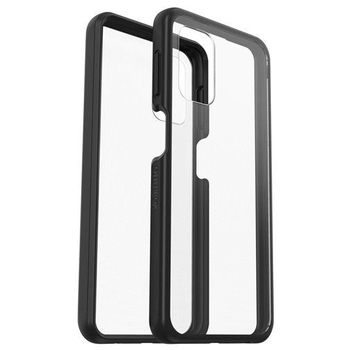Productafbeelding van de OtterBox React PC Back Cover Transparant Zwart Samsung Galaxy A42 5G