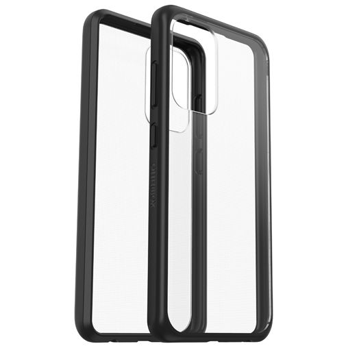 Productafbeelding van de OtterBox React PC Back Cover Transparant Zwart Samsung Galaxy A52