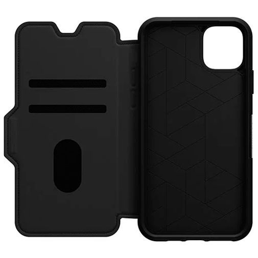 Productafbeelding van de Otterbox Strada Folio Case Black Apple iPhone 11 Pro Max
