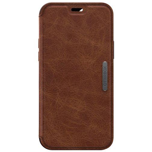 Productafbeelding van de Otterbox Strada Leren Book Case Bruin Apple iPhone 12/12 Pro