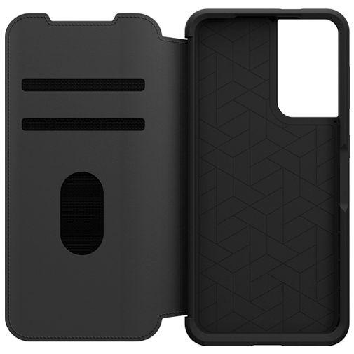 Productafbeelding van de Otterbox Strada Leren Book Case Zwart Samsung Galaxy S21 5G