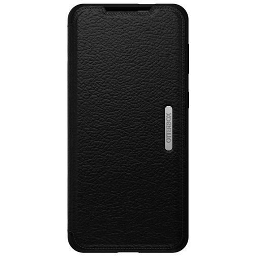 Productafbeelding van de Otterbox Strada Leren Book Case Zwart Samsung Galaxy S21+ 5G