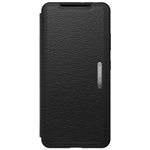 Productafbeelding van de Otterbox Strada Leren Book Case Zwart Samsung Galaxy S21 Ultra 5G