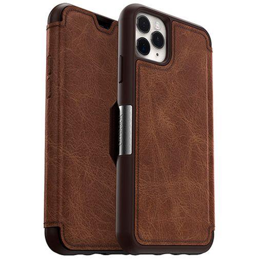 Productafbeelding van de Otterbox Strada Folio Case Brown Apple iPhone 11 Pro Max