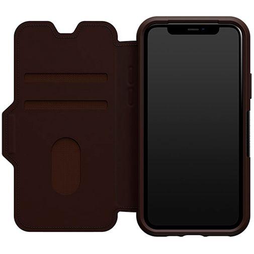 Productafbeelding van de Otterbox Strada Folio Case Brown Apple iPhone 11 Pro