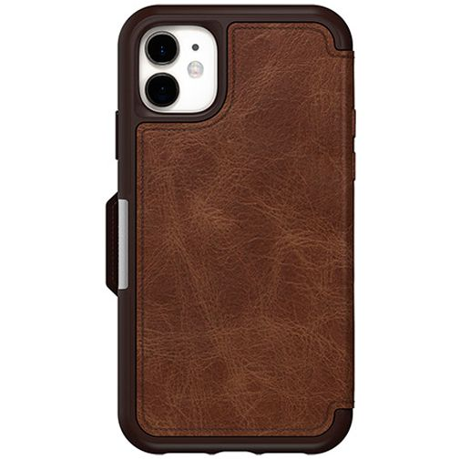 Productafbeelding van de Otterbox Strada Folio Case Brown Apple iPhone 11