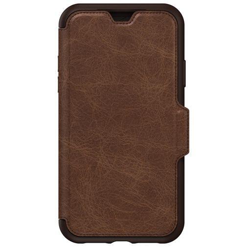 Produktimage des Otterbox Strada Folio Schutzhülle Braun Apple iPhone XR