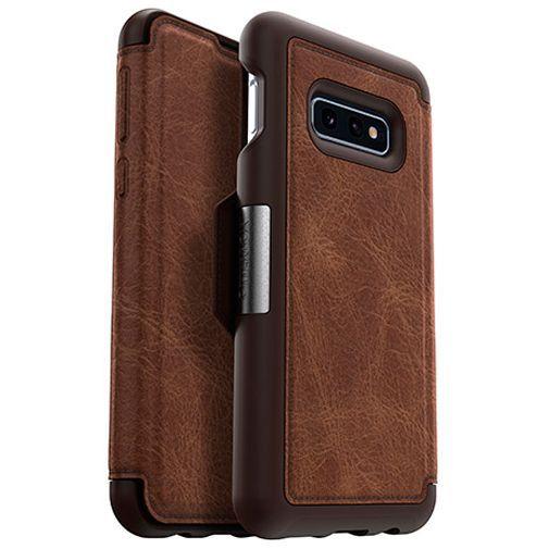 Produktimage des Otterbox Strada Folio Schutzhülle Braun Samsung Galaxy S10e