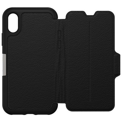 Productafbeelding van de Otterbox Strada Folio Case Black Apple iPhone XS Max
