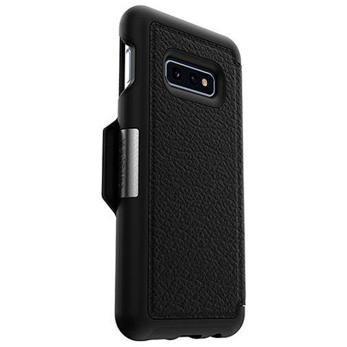 Produktimage des Otterbox Strada Folio Schutzhülle Schwarz Samsung Galaxy S10e