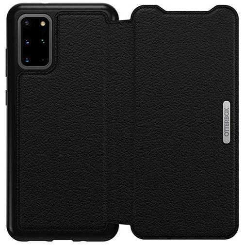 Productafbeelding van de Otterbox Strada Folio Case Black Samsung Galaxy S20+