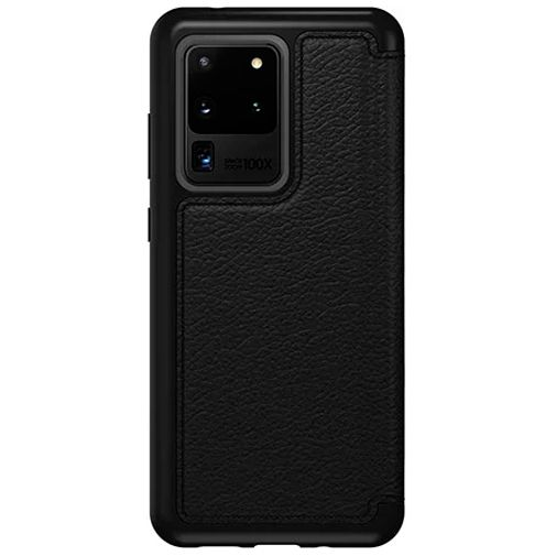 Productafbeelding van de Otterbox Strada Folio Case Black Samsung Galaxy S20 Ultra
