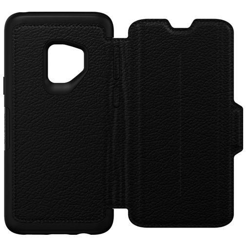 Productafbeelding van de Otterbox Strada Folio Case Black Samsung Galaxy S9
