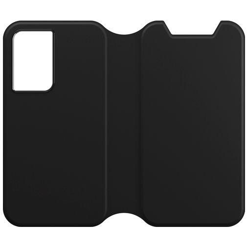 Productafbeelding van de Otterbox Strada Via PU-leer Book Case Zwart Samsung Galaxy S21 5G