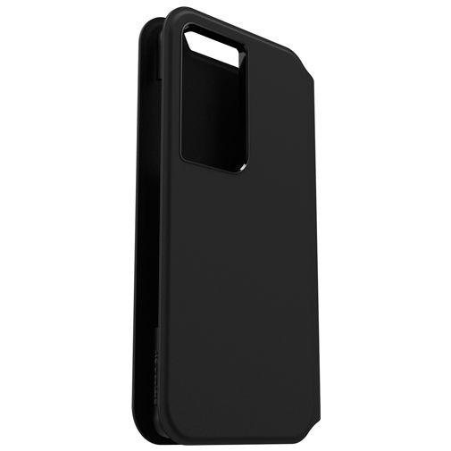 Productafbeelding van de Otterbox Strada Via PU-leer Book Case Zwart Samsung Galaxy S21 Ultra 5G