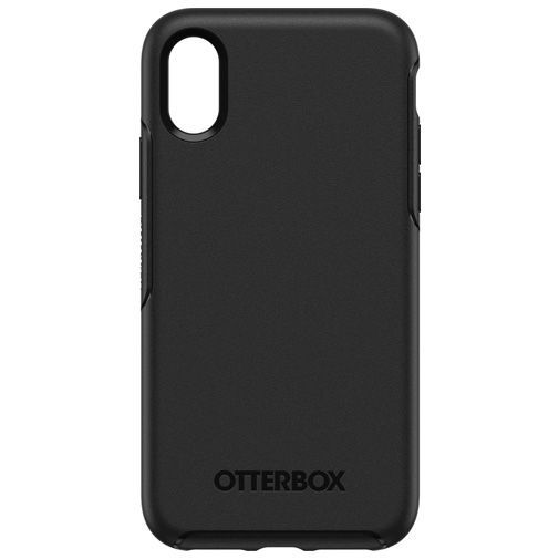 Productafbeelding van de Otterbox Symmetry Case Black Apple iPhone XS Max
