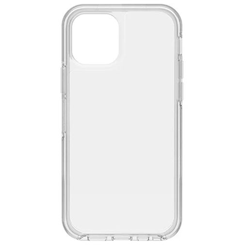 Productafbeelding van de Otterbox Symmetry Kunststof Back Cover Apple iPhone 12/12 Pro Transparant