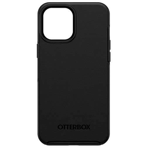 Productafbeelding van de Otterbox Symmetry Kunststof Back Cover Apple iPhone 12 Pro Max Zwart