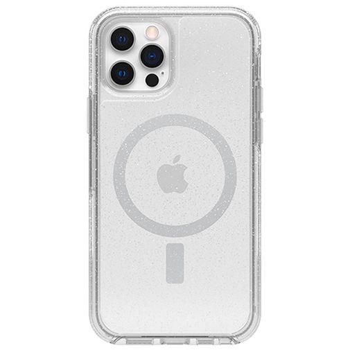 Productafbeelding van de Otterbox Symmetry Plus Stardust PC Back Cover Transparant Apple iPhone 12/12 Pro