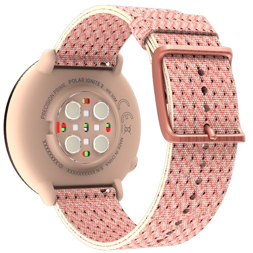 Productafbeelding van de Polar Ignite 2 Rosé Goud Roze Band