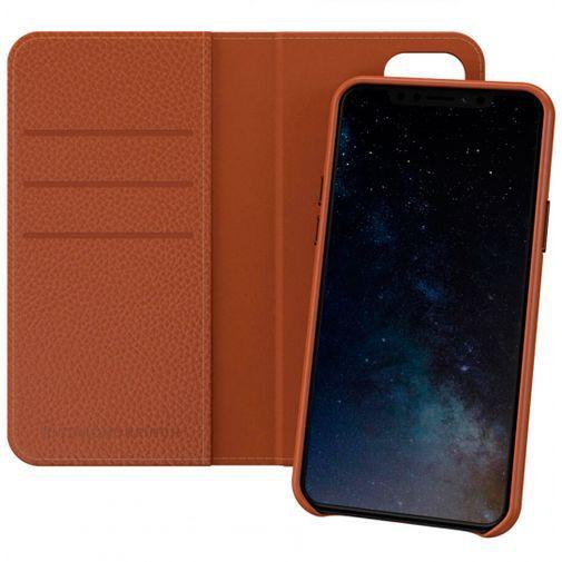 Produktimage des Richmond & Finch 2-in-1 Wallet Case Braun Apple iPhone 11 Pro