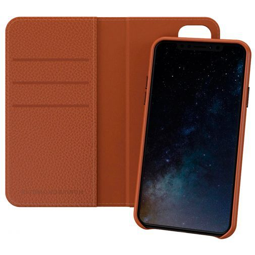 Productafbeelding van de Richmond & Finch 2-in-1 Wallet Case Brown Apple iPhone 11