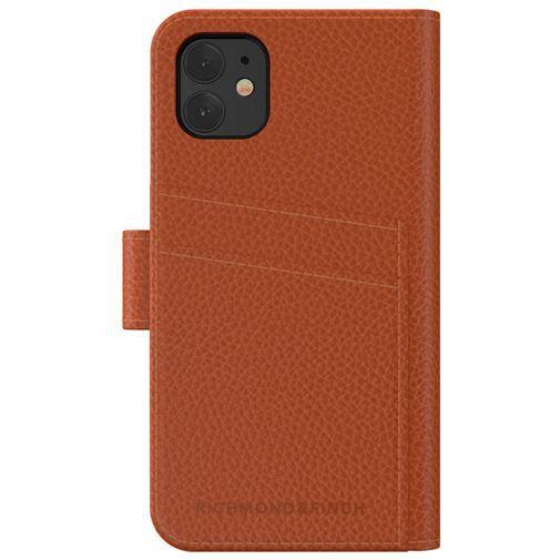 Produktimage des Richmond & Finch 2-in-1 Wallet Case Braun Apple iPhone 11