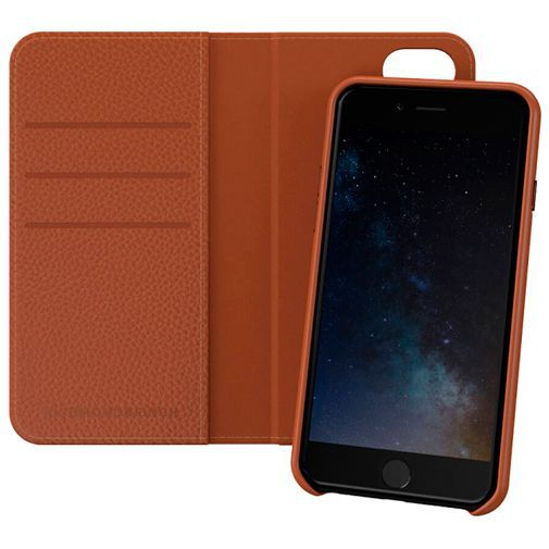 Productafbeelding van de Richmond & Finch 2-in-1 Wallet Case Brown Apple iPhone 6/6S/7/8/SE 2020
