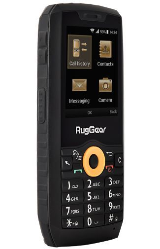 Product image of the RugGear RG150 Black