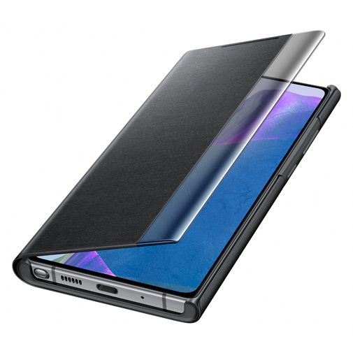 Productafbeelding van de Samsung Clear View Cover Black Galaxy Note 20